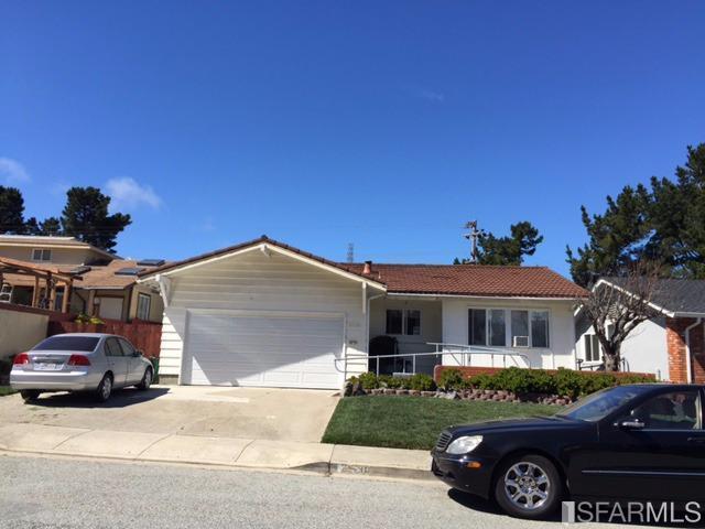 2530 Wentworth Dr, South San Francisco, CA 94080