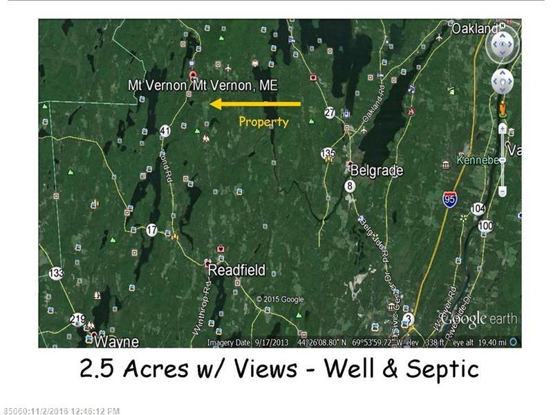 1831 North Rd, Mount Vernon, ME 04352