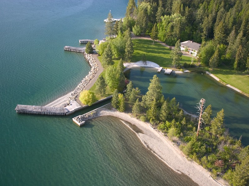 Sun ranch near yellowstone national park sold propgoluxury property news for Raymond lord memorial swimming pool