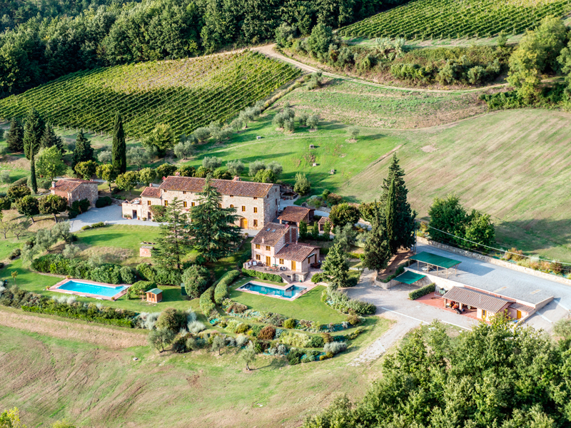 Exclusive villa in the Lucca countryside