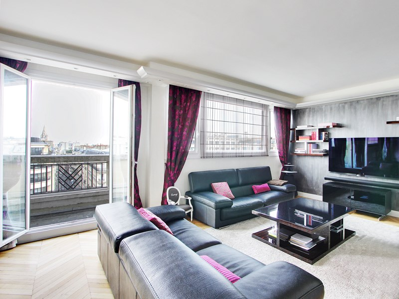 Duplex with view on the Eiffel Tower - Sablons