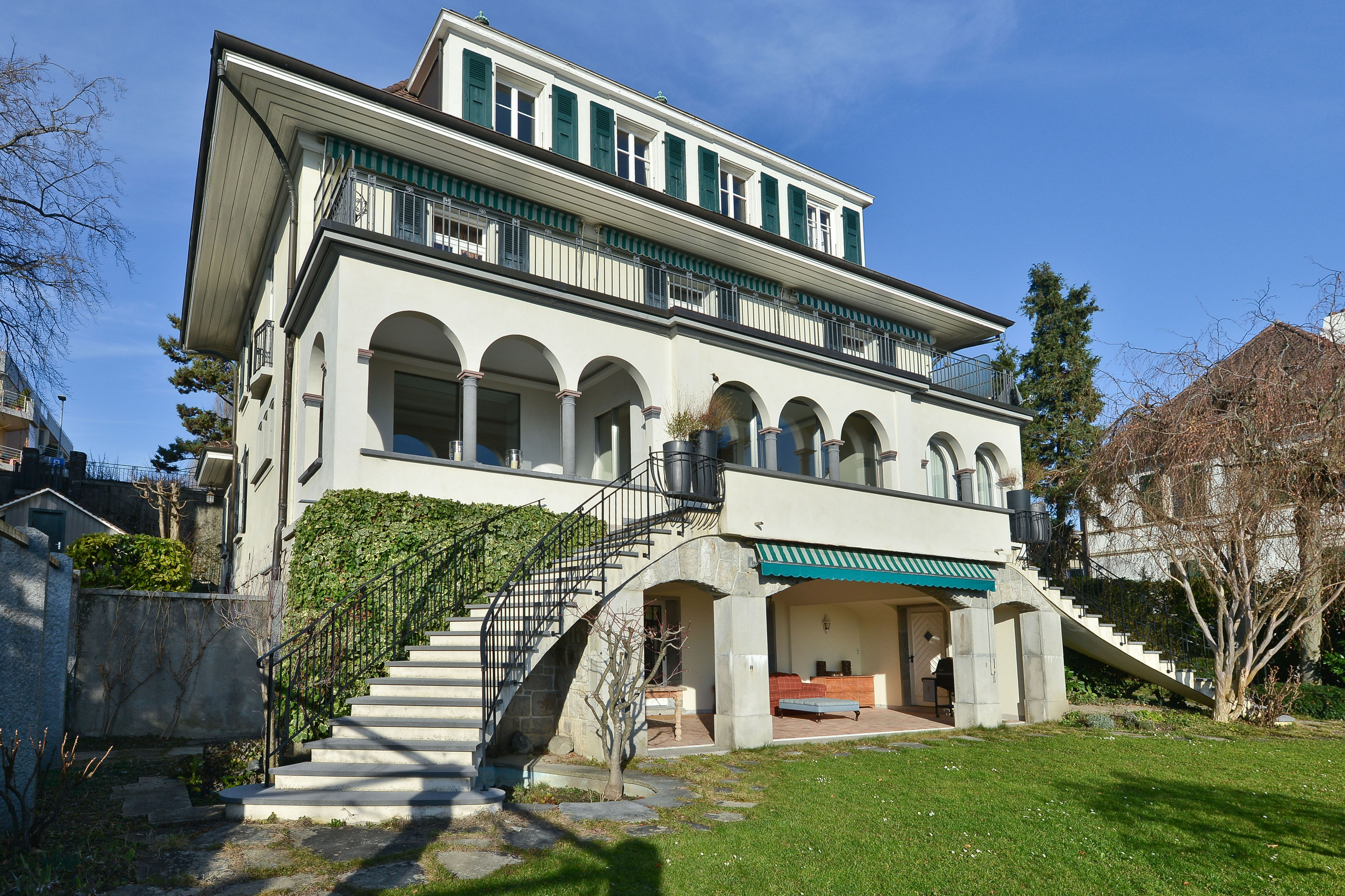 La Savoie Mansion house - Pully-Chamblandes