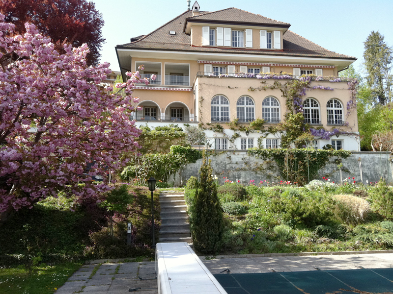 Magnificent townhouse in Lausanne