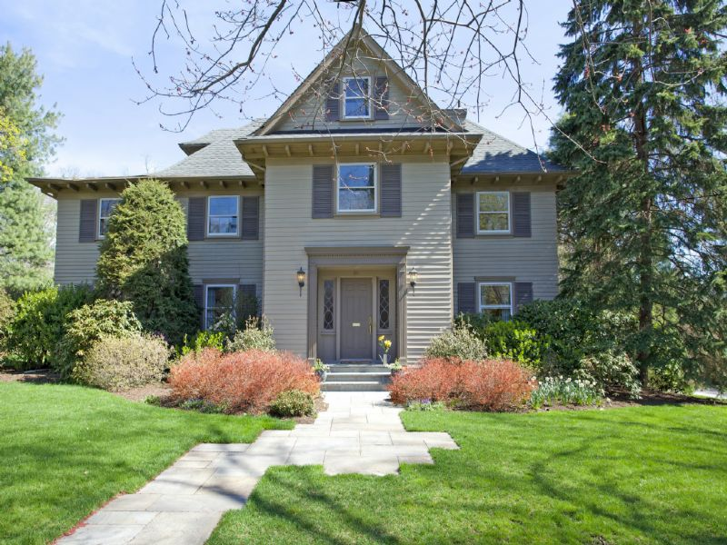 Classic Elegance And Comfort Ridgewood Center Hall Colonial.