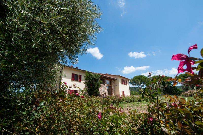 Typical tuscan house in Maremma