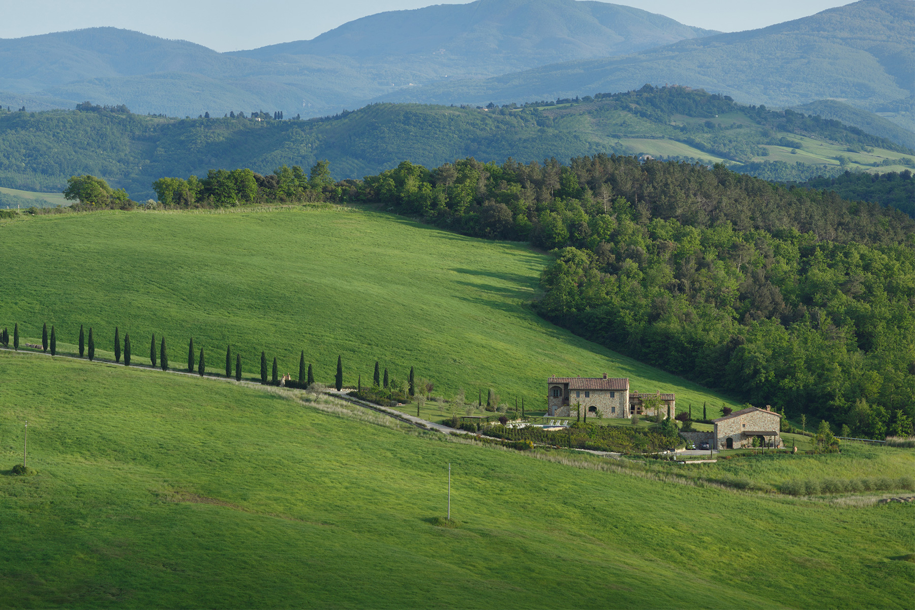 Charming farm complex in Casole d'Elsa, close to Volterra