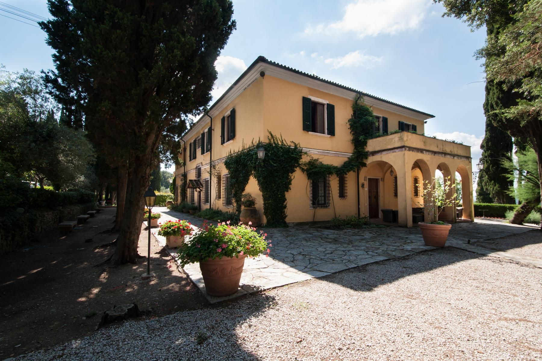 Farm complex near Livorno