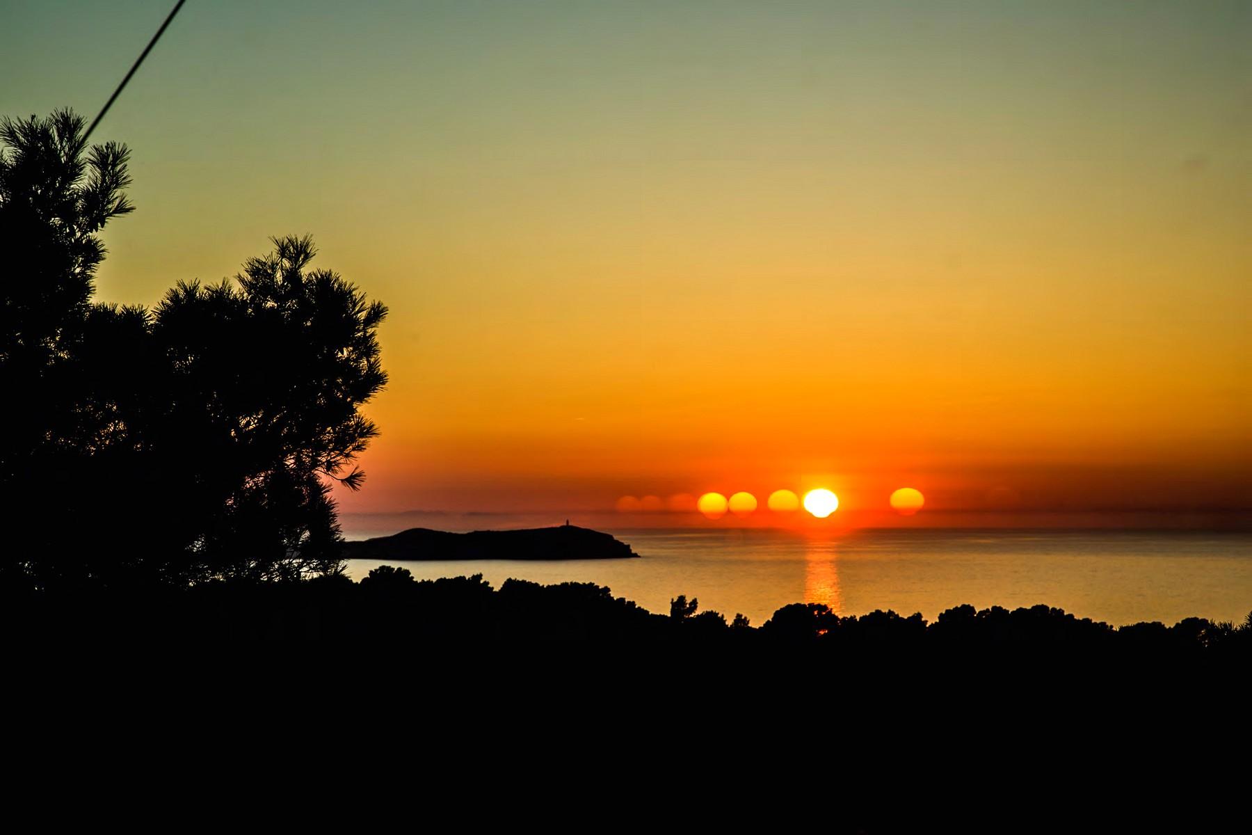 Villa with Sunset Sea Views on West Coast Ibiza