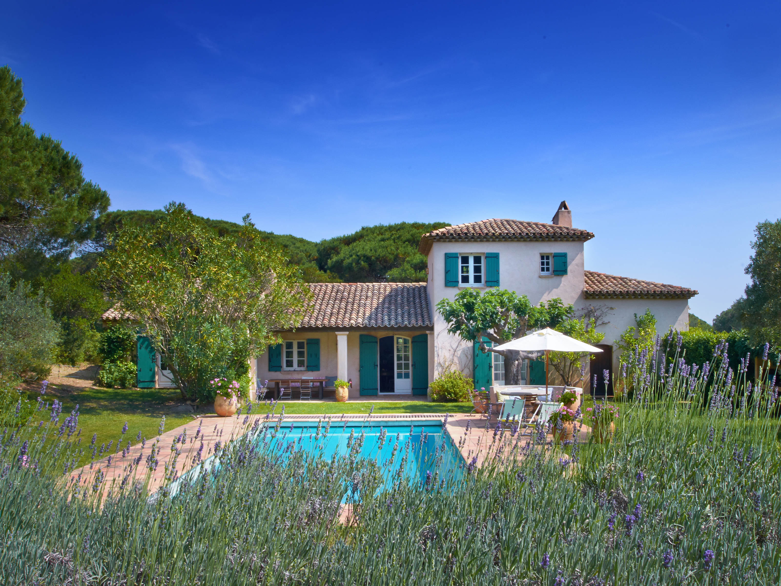 Charming provencal style property in Ramatuelle