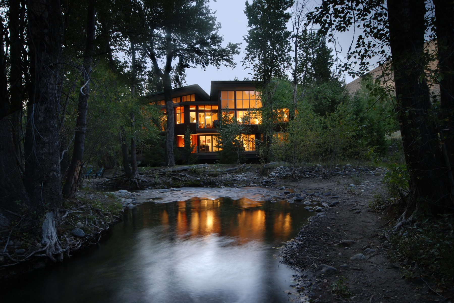 Classic, Contemporary Riverfront