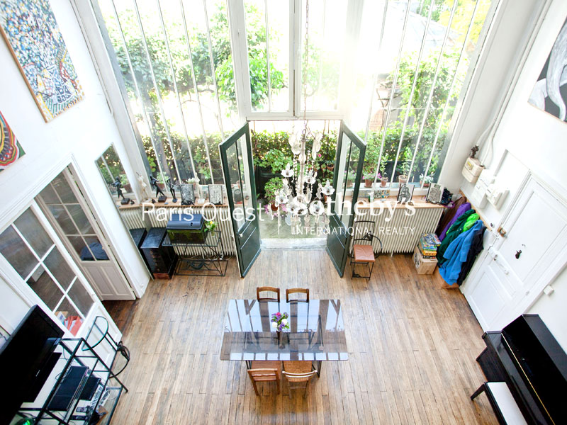 Loft with landscaped balcony - Monsieur Area