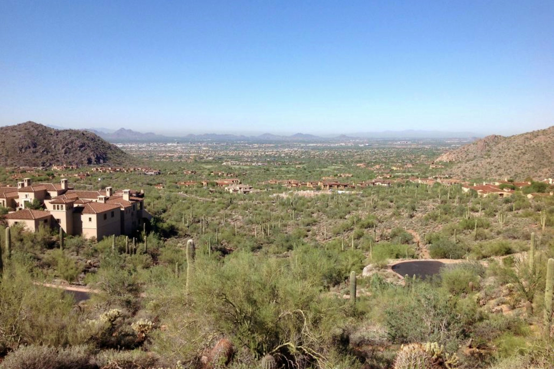 Explosive Views From This Private Hillside Lot High In Silverleaf's Upper Canyon