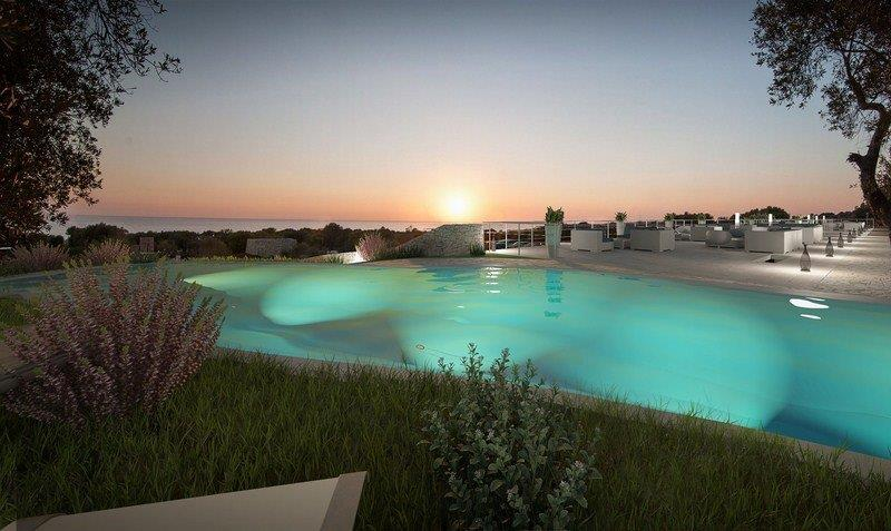 Intriguing villa with a pool in Apulia