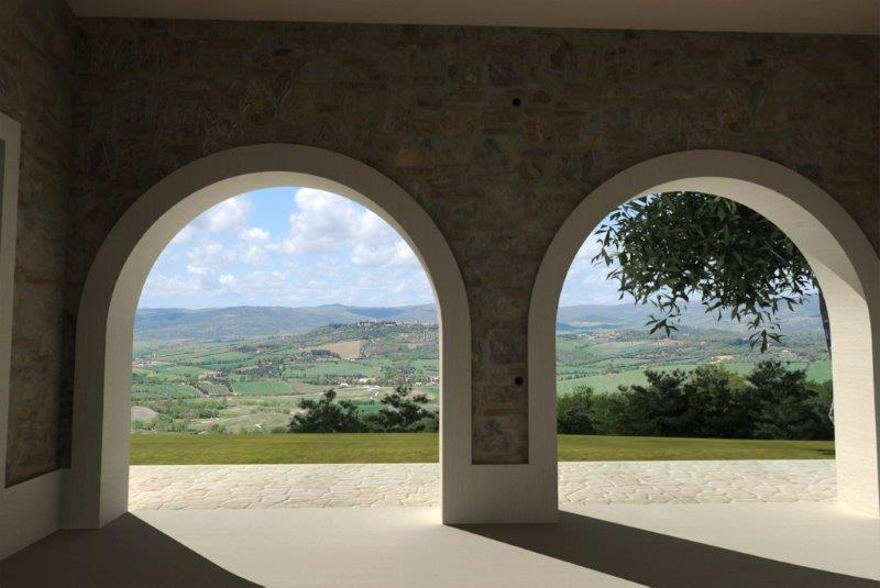 Inviting villa new development in Saturnia
