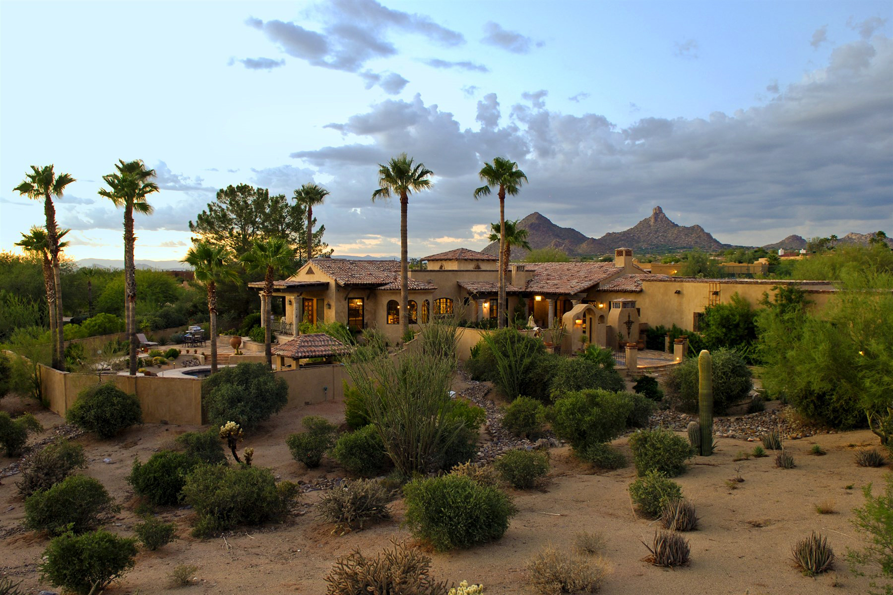 Fabulous French Mediterranean Estate on 2.2 Acres in North Scottsdale
