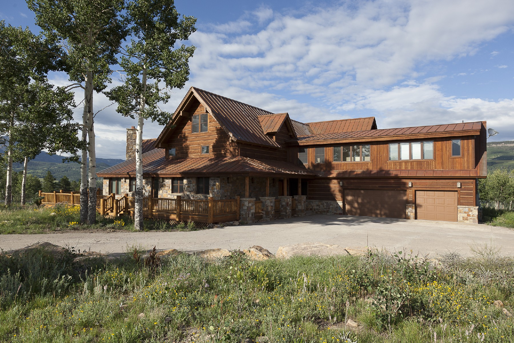 United states telluride berman buckskin ranch for sale for Ranch style homes in colorado