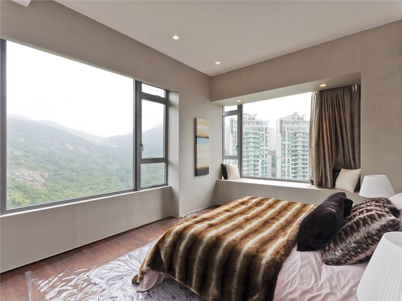 Дизайны угловых квартир