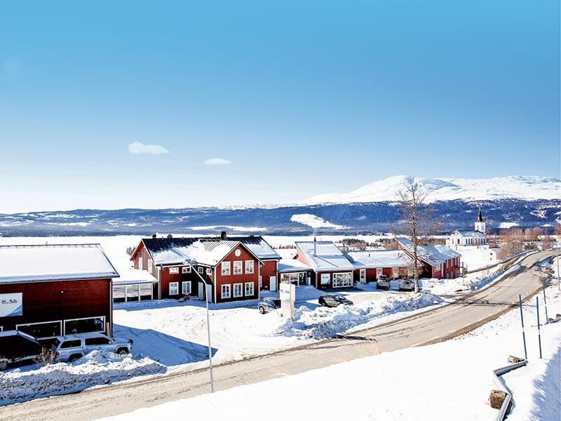 Unique conference hotel in northern Sweden