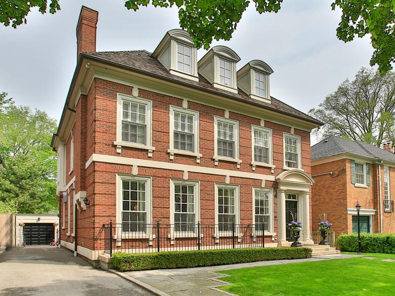 Canada Toronto Classic Georgian Architecture For Sale