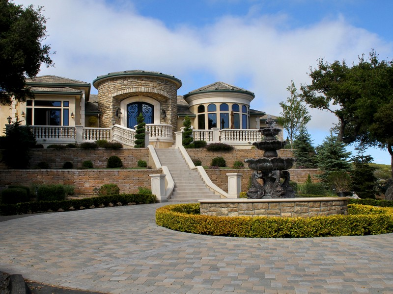 United States California French Country Estate For