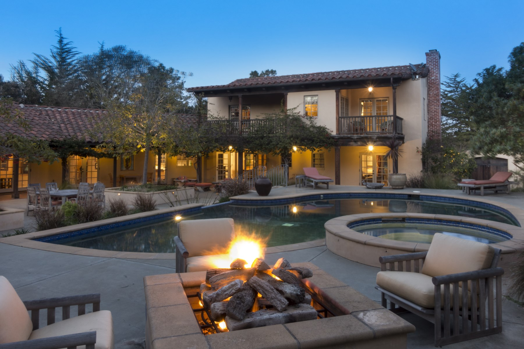 United States Monterey Graceful Spanish Colonial Estate For Sale On Propgoluxury