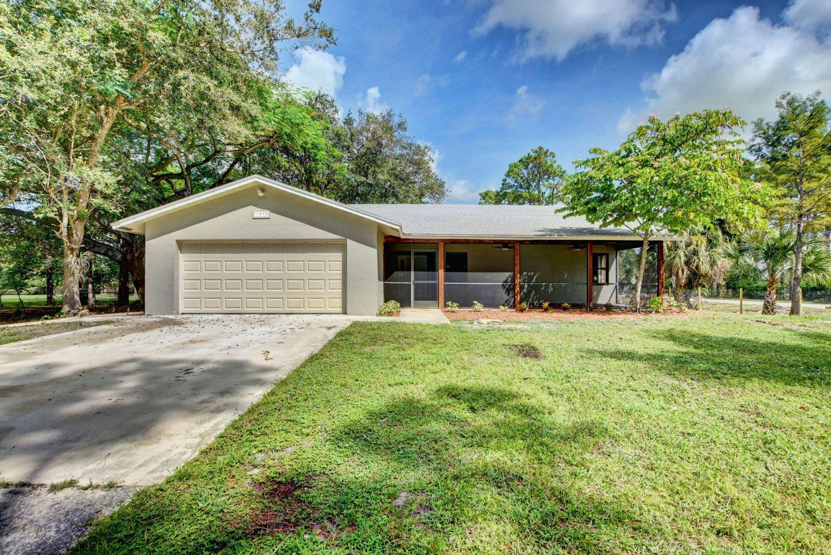 11545 68th Street N, Loxahatchee in Palm Beach County, FL 33470 Home for Sale