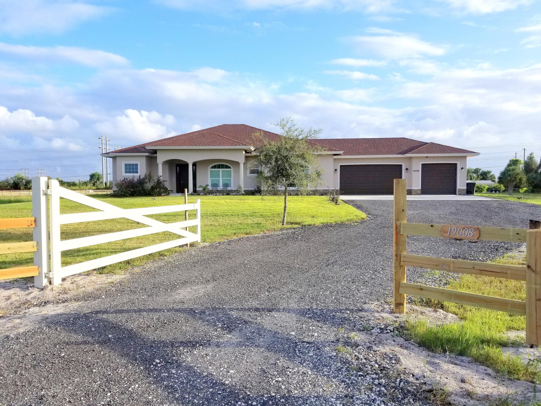 19008 Marsh Hawk Lane, Loxahatchee in Palm Beach County, FL 33470 Home for Sale