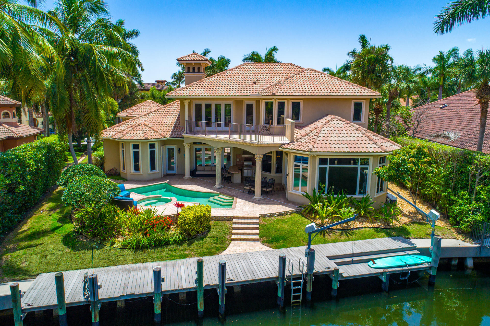 One of North Palm Beach 4 Bedroom Homes for Sale at 797 Harbour Isles Place