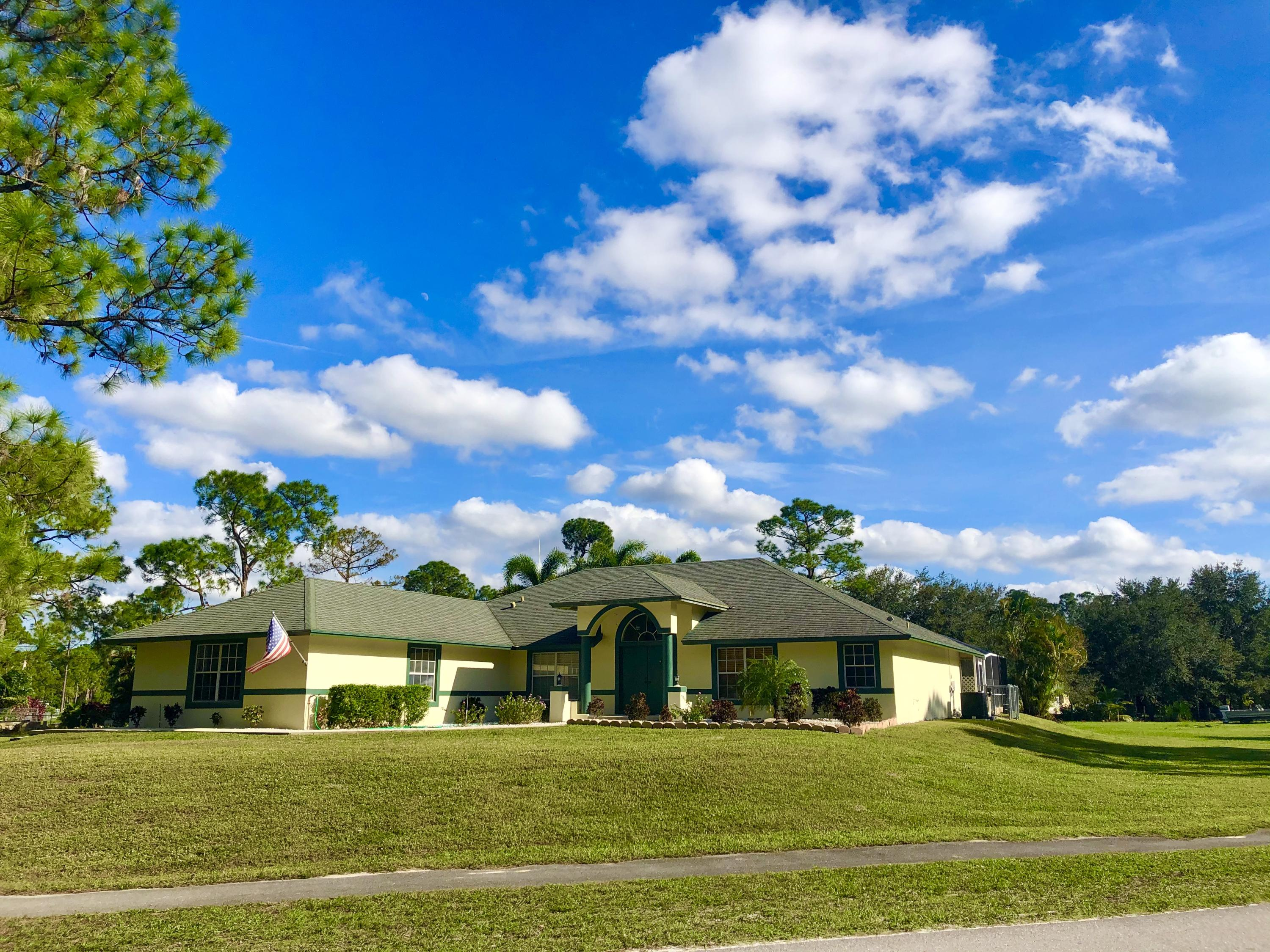 17996 42nd Road N, Loxahatchee in Palm Beach County, FL 33470 Home for Sale