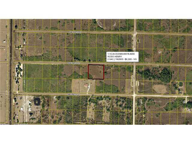 2.5 acres in Okeechobee, Florida