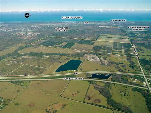 1757 acres in Hobe Sound, Florida