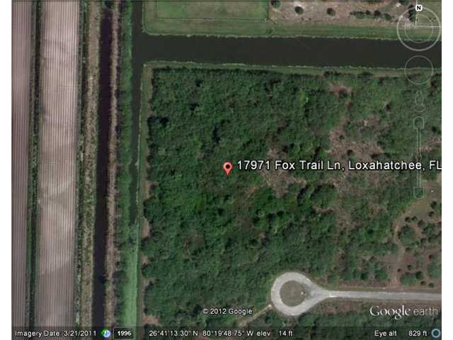 5.84 acres in Loxahatchee, Florida