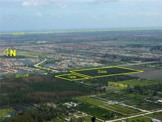 40 acres in Lake Worth, Florida
