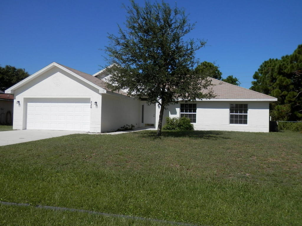 Real Estate for Sale, ListingId: 25128122, Pt St Lucie, FL  34983