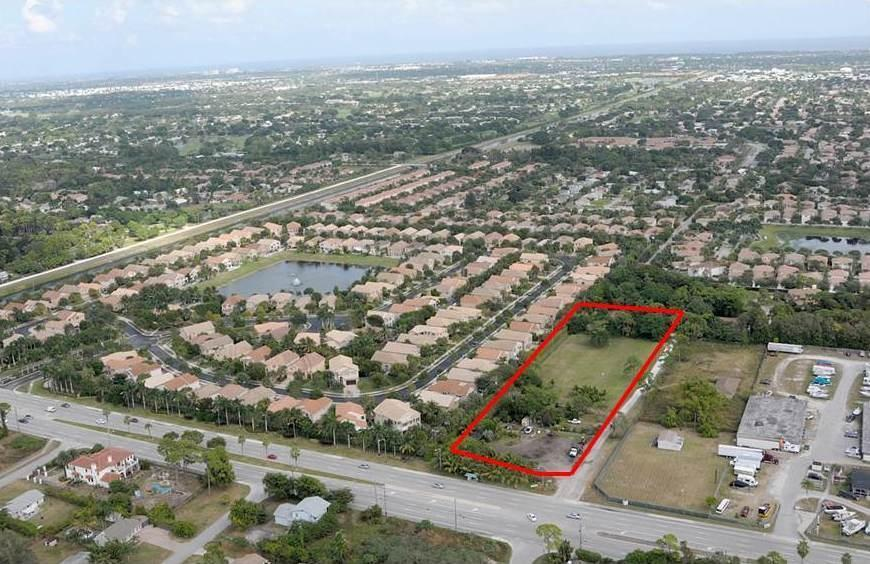 2.3 acres in Delray Beach, Florida
