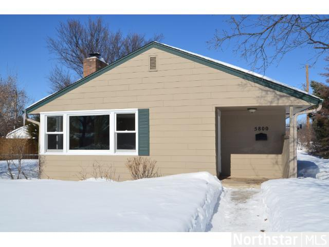 Rental Homes for Rent, ListingId:27750883, location: 5800 Queen Avenue S Minneapolis 55410