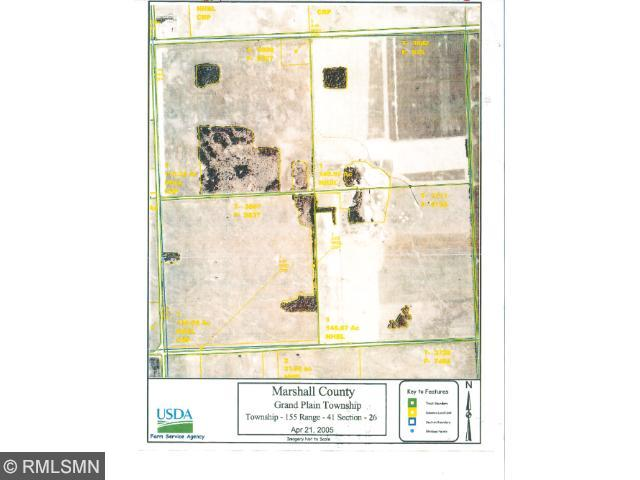 157 acres by Erie, Minnesota for sale