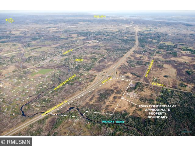 55 acres by Esko, Minnesota for sale