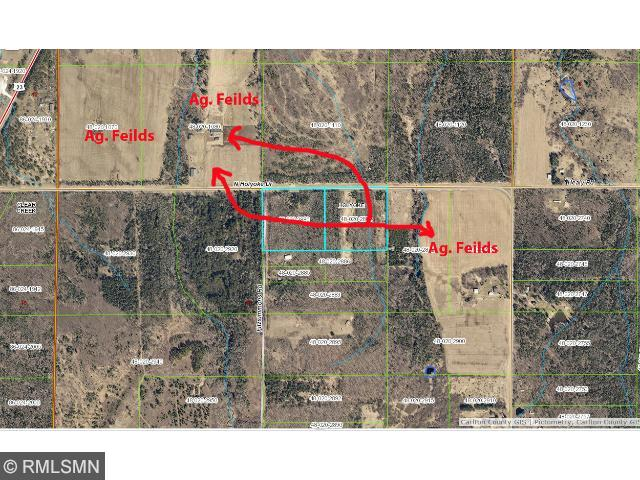 Image of Acreage for Sale near Holyoke, Minnesota, in Carlton County: 20 acres