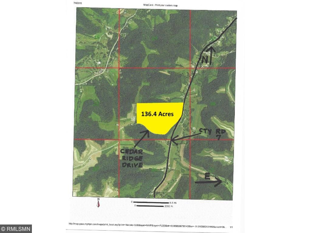 Image of  for Sale near Goodview, Minnesota, in Winona County: 136.4 acres