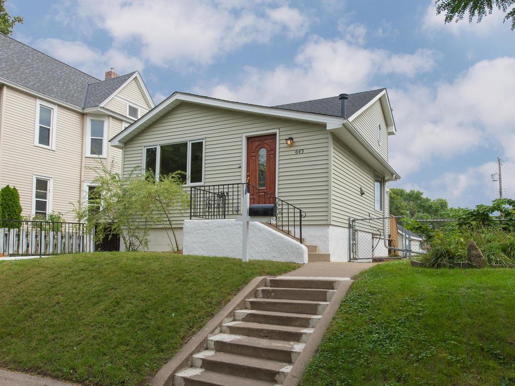 Photo of 643 Pierce Street NE  Minneapolis  MN