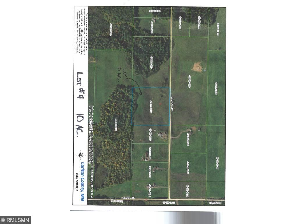 Image of  for Sale near Barnum, Minnesota, in Carlton County: 10 acres