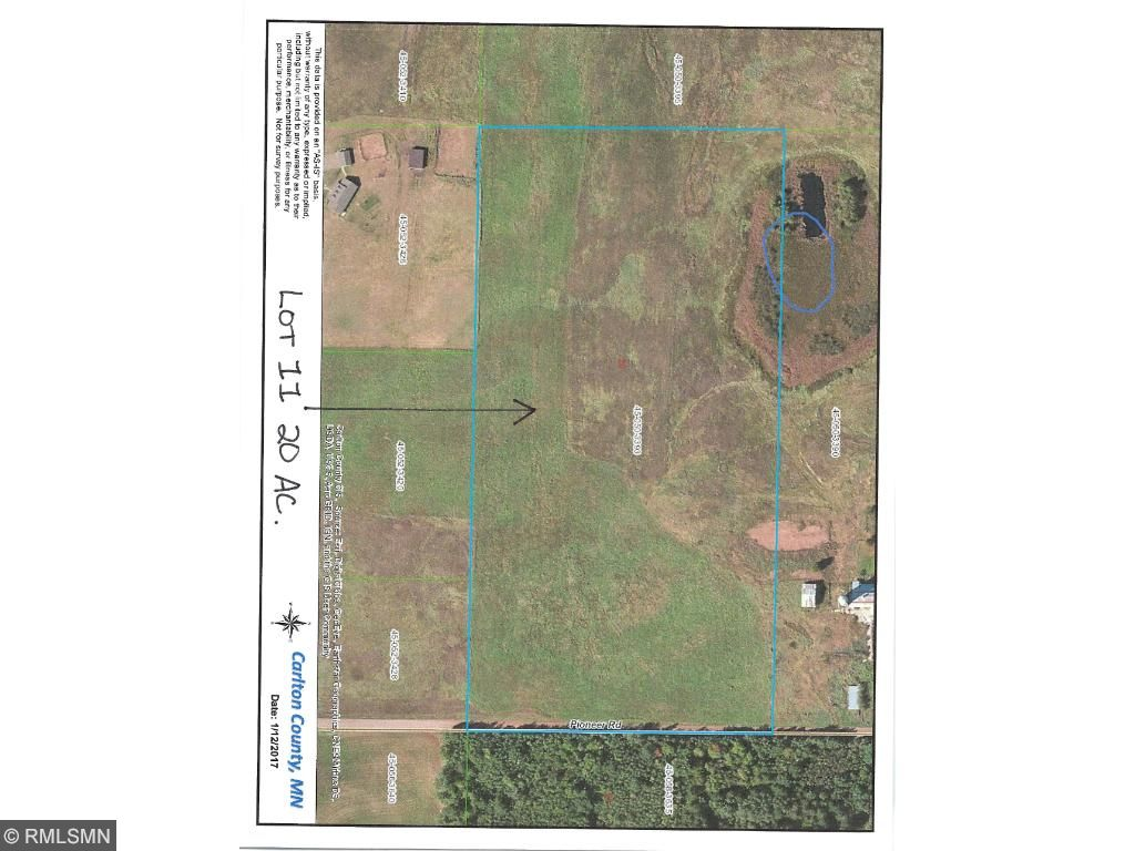 Image of  for Sale near Barnum, Minnesota, in Carlton County: 20 acres