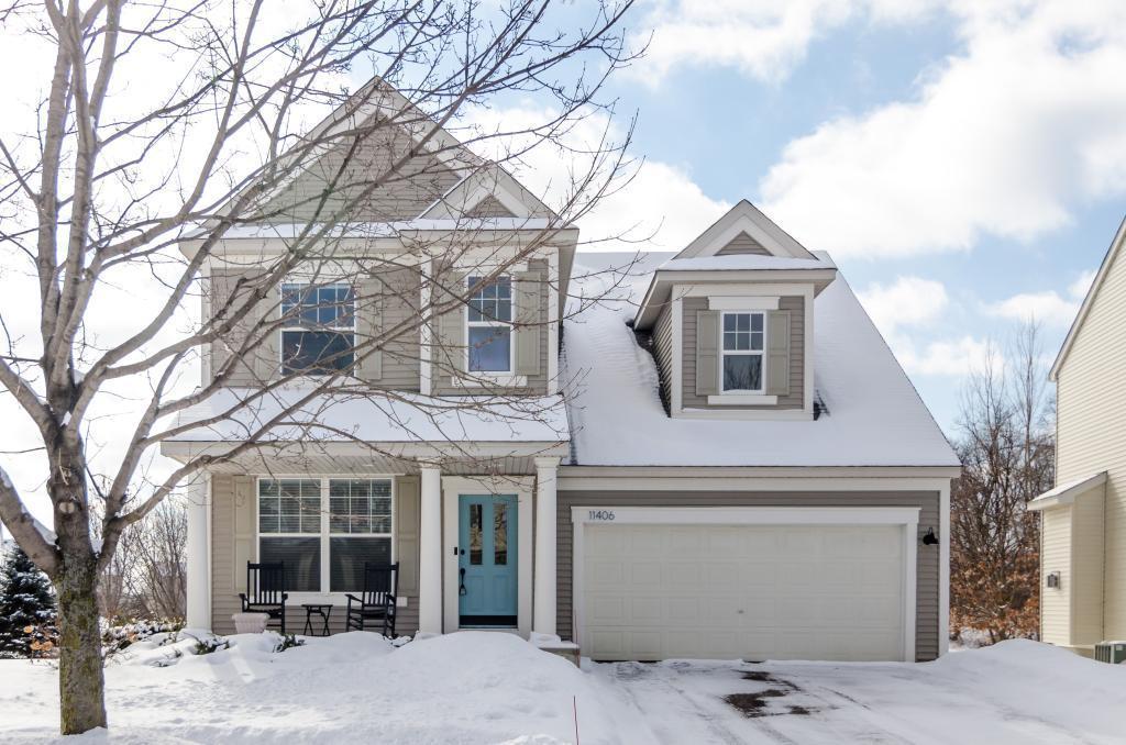 11406 Hastings Street NE, Blaine in Anoka County, MN 55449 Home for Sale