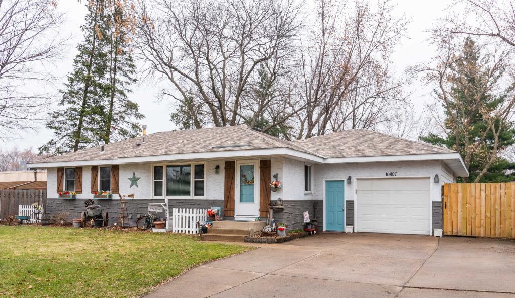 10807 Jefferson Street NE, Blaine in Anoka County, MN 55434 Home for Sale