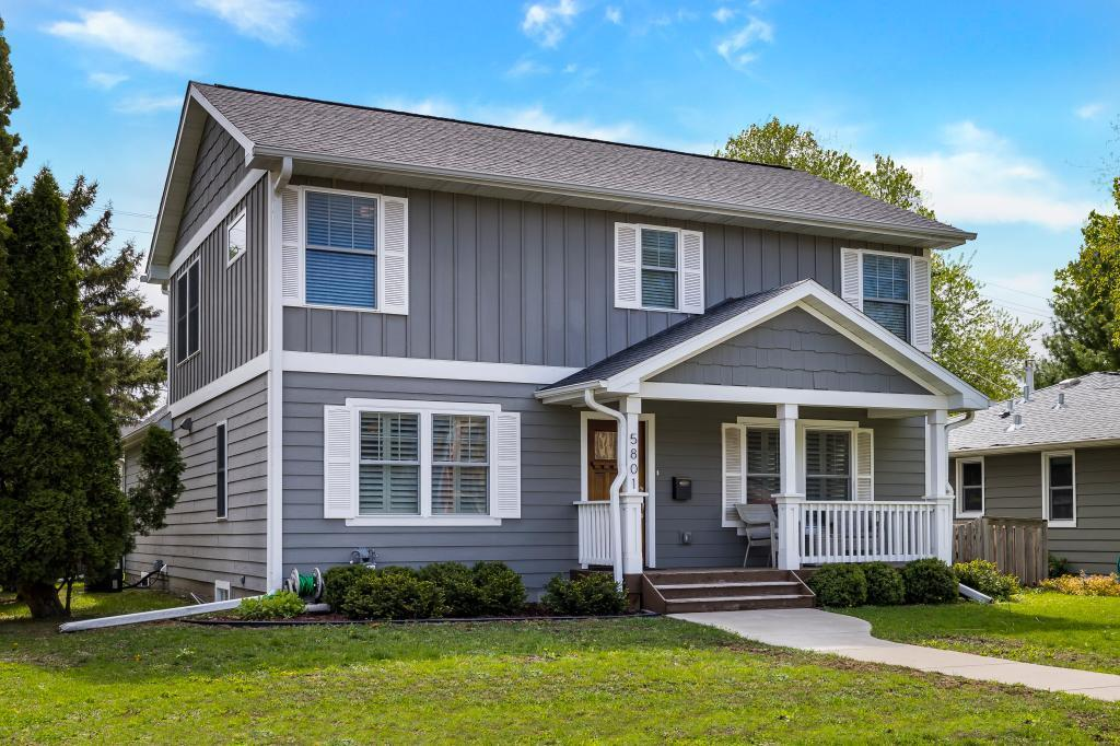 One of Edina 4 Bedroom Homes for Sale at 5801 Beard Avenue S