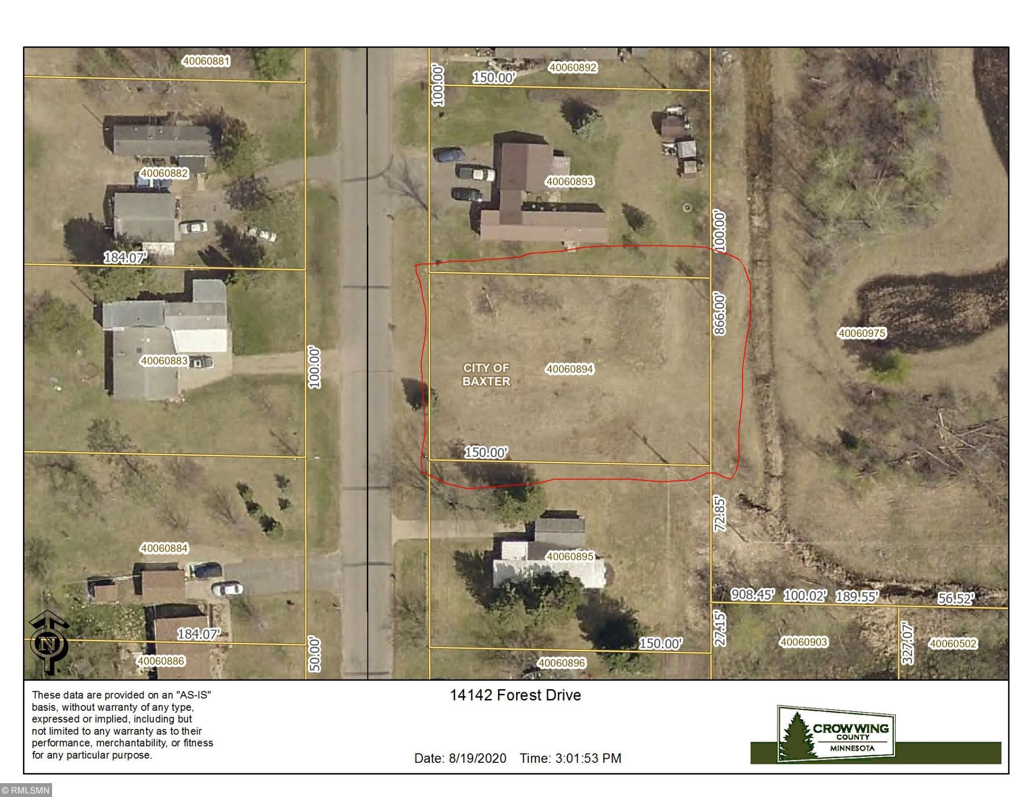 primary photo for 14142 Forest Drive, Baxter, MN 56425, US