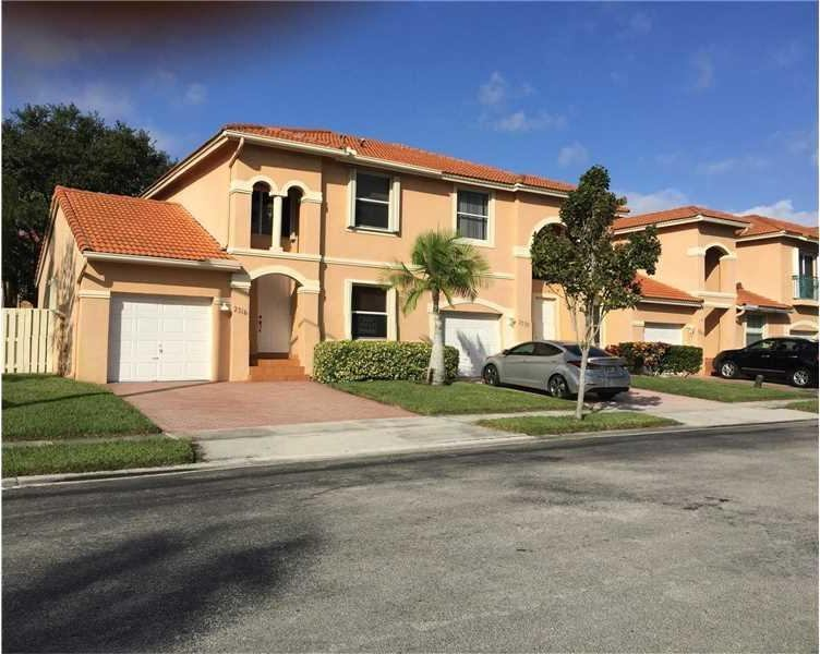 Photo of 2316 NW 161st Ter  Pembroke Pines  FL