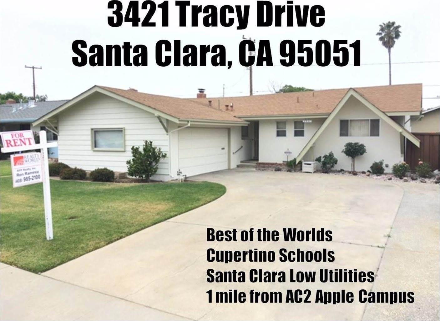 Photo of 3421 Tracy DR  Santa Clara  CA