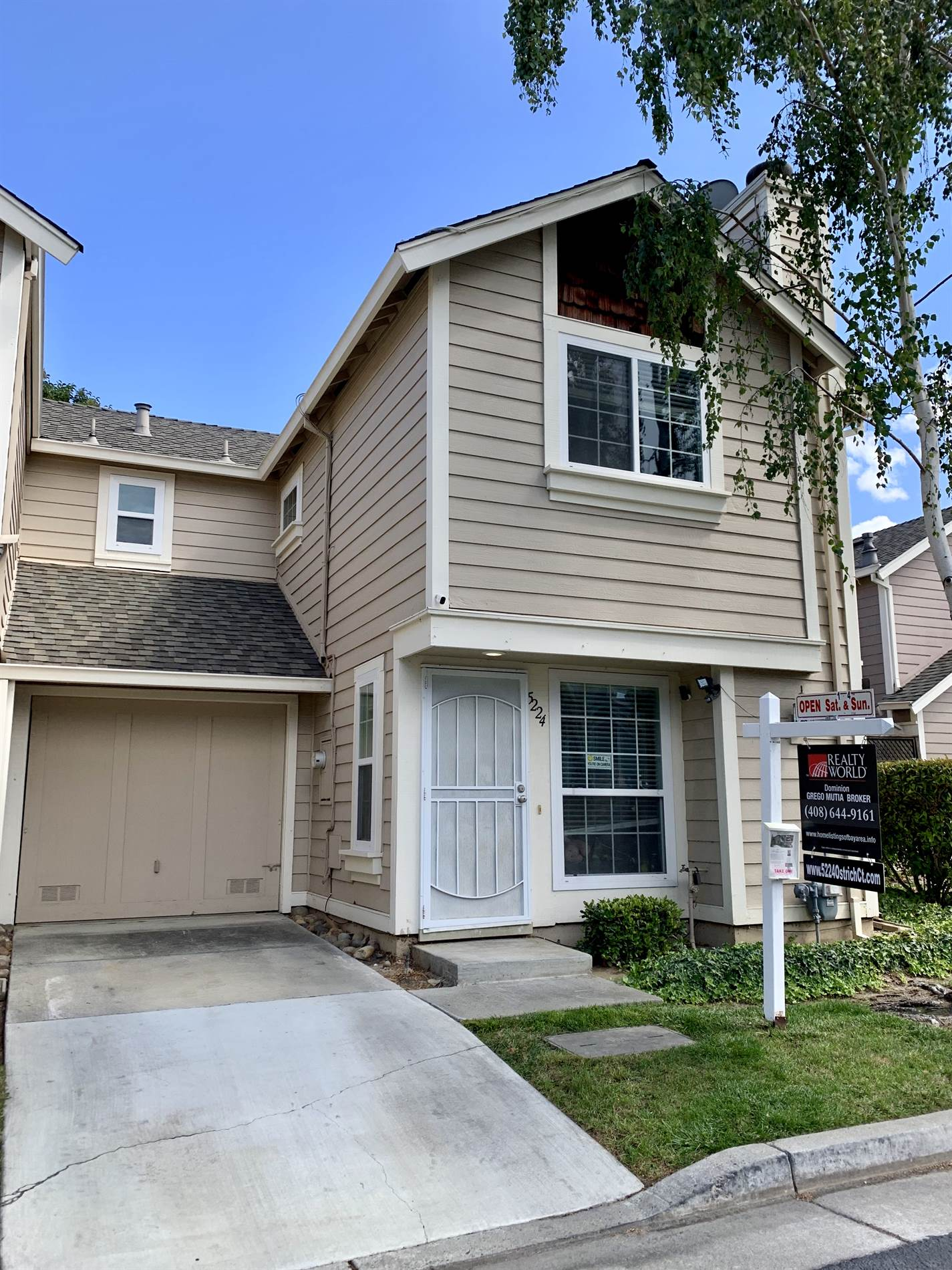 5224 Ostrich CT, Edenvale-San Jose in  County, CA 95123 Home for Sale